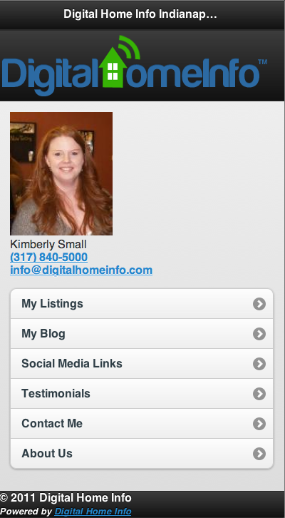 Mobile REALTOR Website